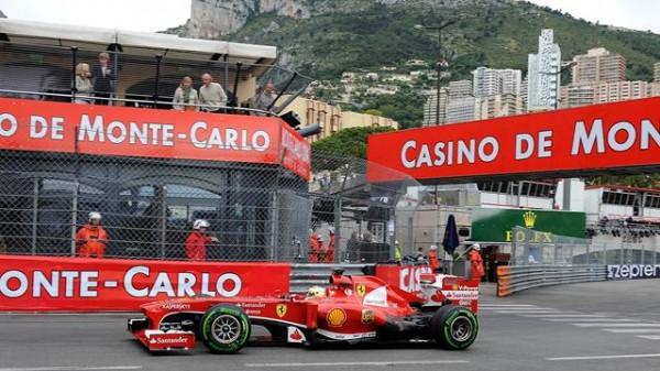 F1-2013-MONACOUn GP bien pale pour la FERRARI F138 de Fernando ALONSO-Photo-FERRARI