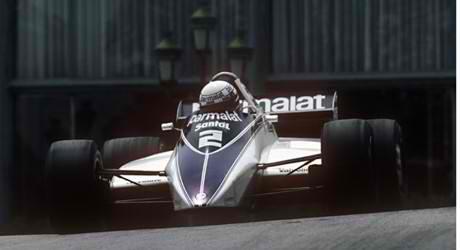 F1-MONACO-GP-1982-RICARDO-PATRESE 1er avec la BRABHAM