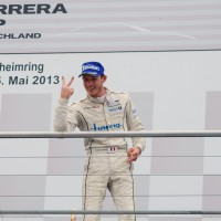 KEVIN-ESTRE-Double-vainqueur-a-Hockenheim-en-Coupe-PORSCHE-Deutschland-5-Mai-2013
