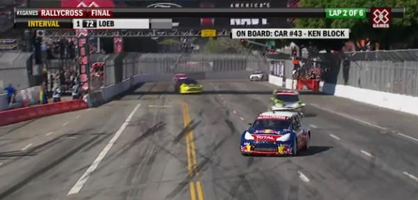 LOEB-REMPORTE-LES-X-GAMES 2012 -Photo X Games pour autonewsinfo