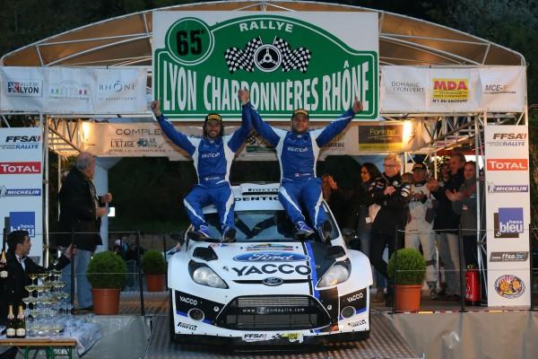 AUTO - RALLYE LYON CHARBONNIERES 2013