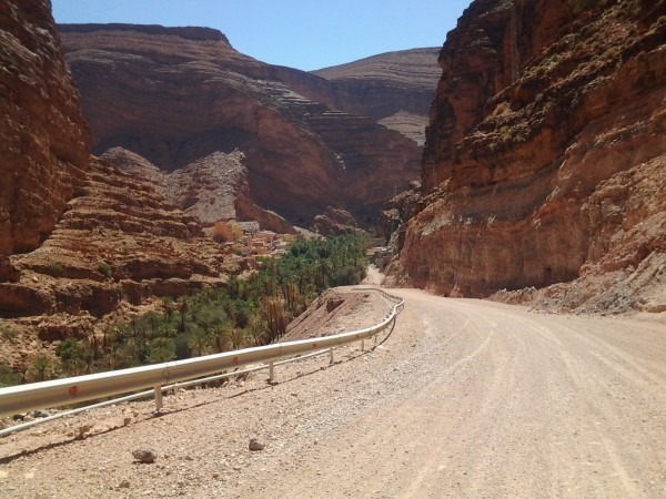 MAROC HISTORIQUE 2013 LE REVE le passage dans la vallée d'IGMIR -  Photo autonewsinfo