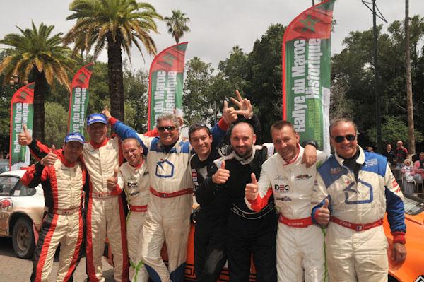 MAROC-HISTORIQUE-2013-Les-équipages-vainqueurs-Photo-David-GIARD-pour-autonewsinfo