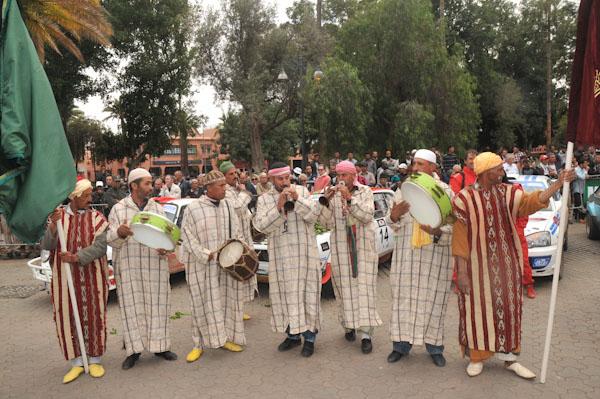 MAROC HISTORIQUE 2013 Les musiciens locaux fetent les vainqueurs Photo David GIARD pour autonewsinfo