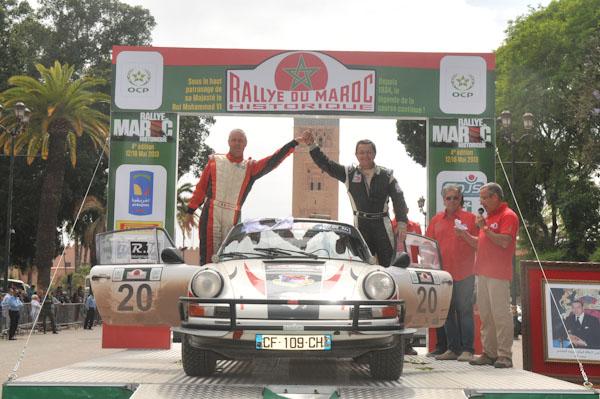 MAROC HISTORIQUE 2013 Louis ANTONINI et Jean Charles DECAMPS  Photo David GIARD pour autonewsinfo