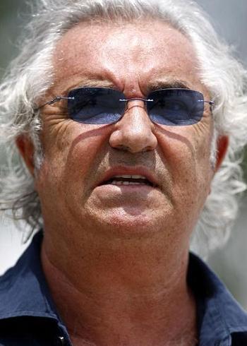 Manager F1 Flavio Briatore