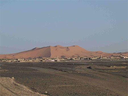 Les-dunes-de-MERZOUGA - Photo Alain ROSSIGNOL pour autonewsinfo