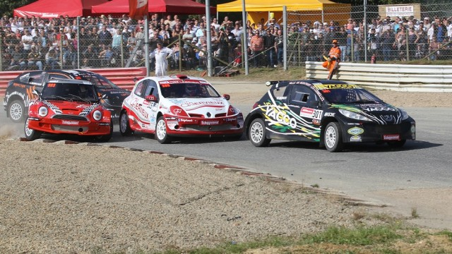 RALLYCROSS 2013 D3-DEPART de la D4 avec cette anne encore Marc Morize comme favori -Photos Manu Naud