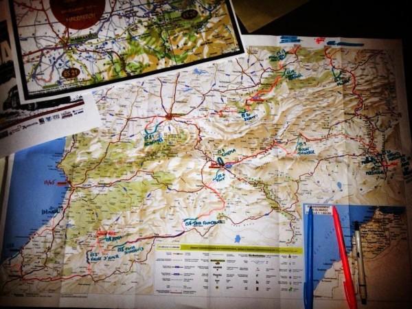 RALLYE-DU-MAROC-HISTORIQUE-2013-le-parcours