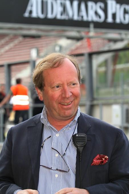 SPA CLASSIC 2013 Patrick PETER,maître de cérémonie-© Manfred GIET pour autonewsinfo