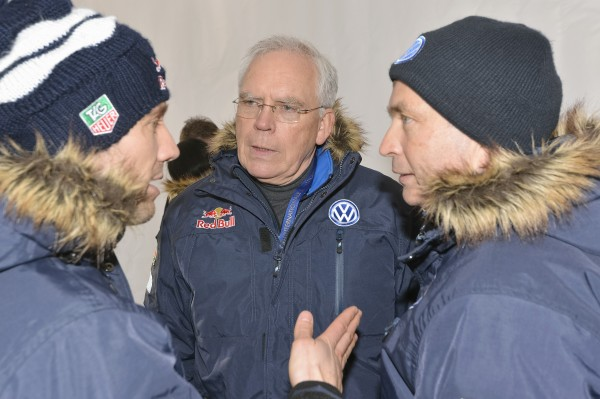 WRC  2013 Sébastien Ogier, Dr Ulrich Hackenberg, Jost Capito