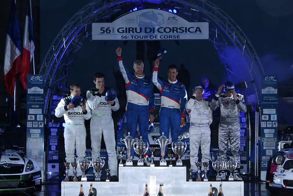 TOUR-DE-CORSE-2013-Le-podium-AVEC-LES-TROIS-1ers-dont-les-vainqueurs-BOUFFIER-PANSERI-Photo-Jo-LILLINI