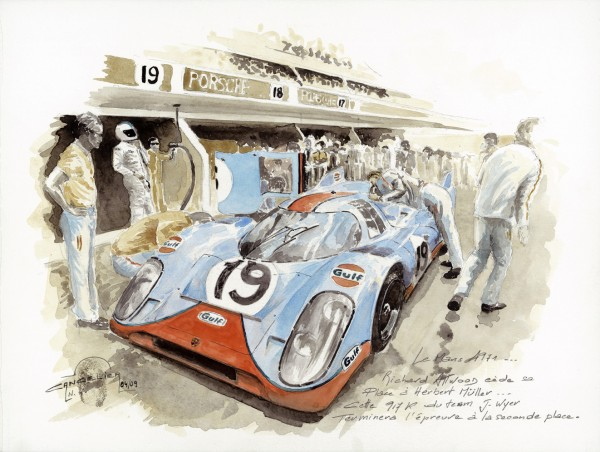VERNISSAGE NICOLAS CANCELIER PORSCHE 917