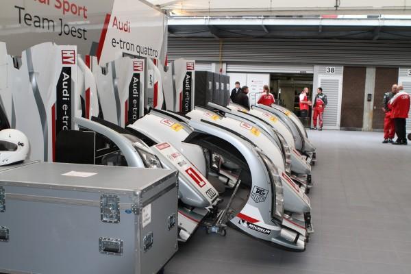 WEC 2013 SPA Des capots en suffisance chez Audi© Manfred GIET pour autonewsinfo.