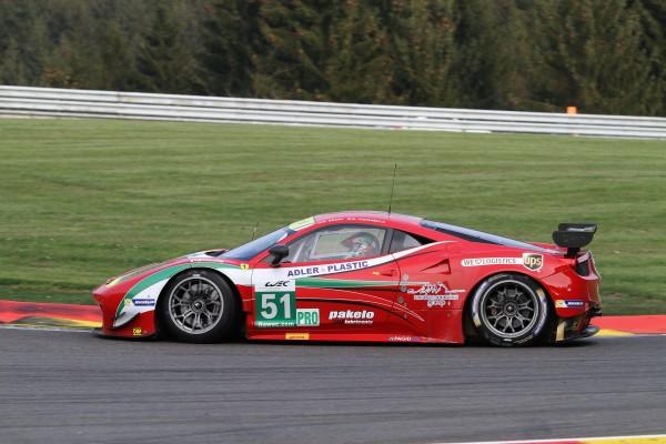 WEC 2013 SPA Ferrari AF Corse de Bruni-Fisichella deuxième en LMGTE Pro-© Manfred GIET pour autonewsinfo