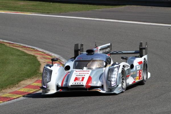 WEC 2013 SPA L'Audi expérimentale de Di Grassi-Gene-Jarvis-© Manfred GIET-pour autonewsinfo.