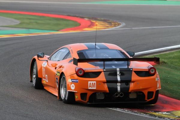 WEC 2013 SPA La Ferrari F458 Italia de POTOLICCHIO-AGUAS-MALUCELLI deuxième en LMGTE Am-© Manfred GIET pour autonewsinfo