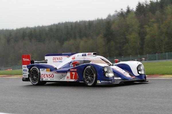 WEC 2013 SPA La plus rapide des Toyota celle de Wurz-Lapierre-Nakajima-© Manfred GIET pour autonewsinfo