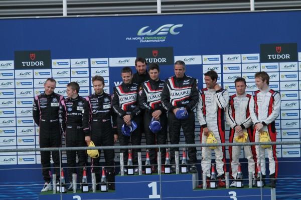 WEC-2013-SPA-Le-podium-LMP2-©-Manfred-GIET-pour-autonewsinfo