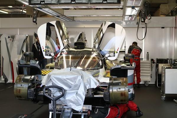 WEC 2013 SPA Sur la version Queue Longue Le Mans Audi prenait soin de cacher un maximum-© Manfred GIET-pour autonewsinfo.