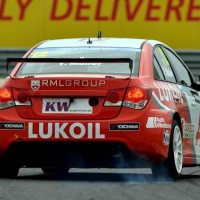 WTCC 2013 BUDAPEST HUNGARORING MULLER poleman