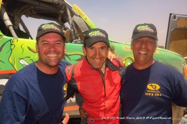 Magnaldi et le team Ironman