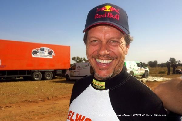 Jean Jacques Radelet au matin de la course