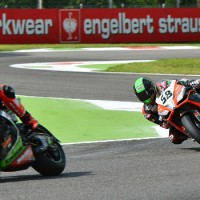 SYKES EN POLE DEVANT LAVERTY