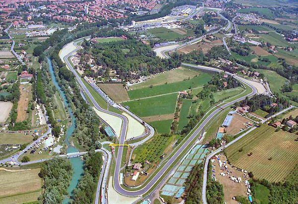circuit imola vue aerienne photo circuit