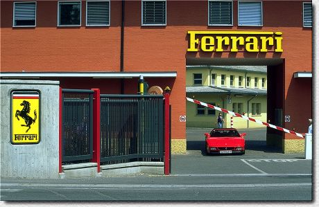 F1-USINE-FERRARI a MARANELLO - Photo Olivier THIBAUD