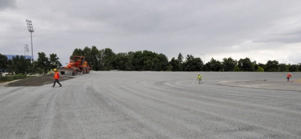 Construction de la piste à 9 degrés !