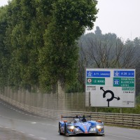 24 H DU MANS 2013 ALPINE a la sortie du virage du Tertre ROUGE - Photo Thierry COULIBALY autonewsinfo