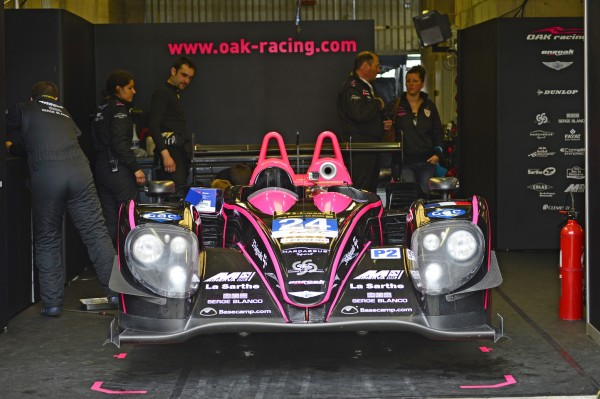 24 H DU MANS 2013 Preliminaire 9 juin - Le box OAK - Photo Max MALKA autonewsinfo