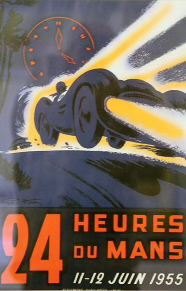 24-HEURES-DU-MANS-1955-bis-Affiche-Photo-Gilles-VITRY-autonewsinfo