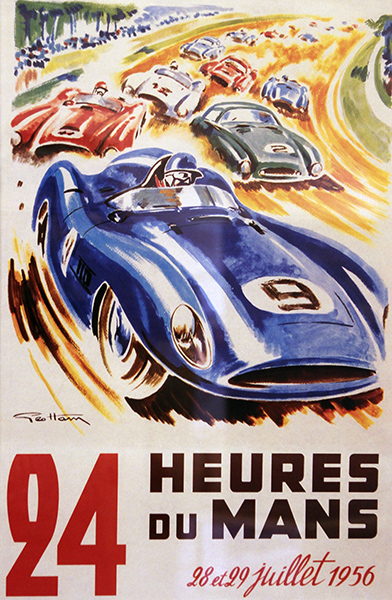 24-HEURES-DU-MANS-1956-Affiche-Photo-Gilles-VITRY-autonewsinfo