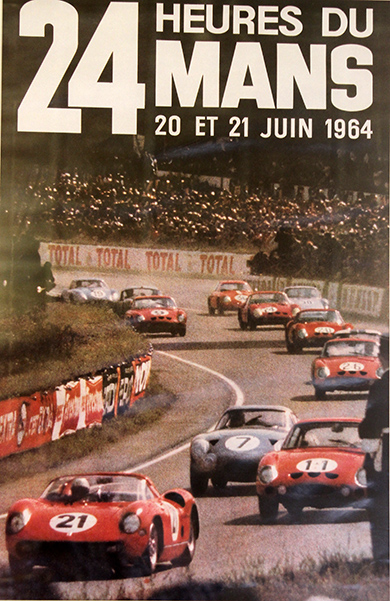 24-HEURES-DU-MANS-1964-Affiche-Photo-Gilles-VITRY-autonewsinfo