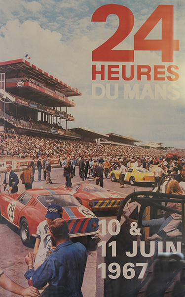 24-HEURES-DU-MANS-1967-Affiche-Photo-Gilles-VITRY-autonewsinfo