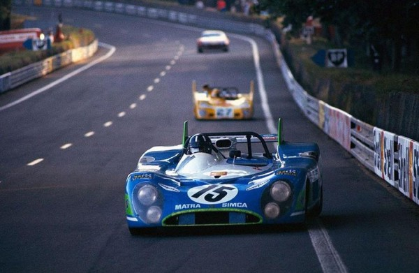 4-HEURES-DU-MANS-1972-1er-MATRA-SIMCA-Graham-HILL-Henri-PESCAROLO- Photo Collection Famille CHASSAGNY