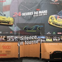 24 HEURES DU MANS 2013- Structure du Team larbre DANS LE PADDOCK Photo Gilles VITRY - autonewsinfo