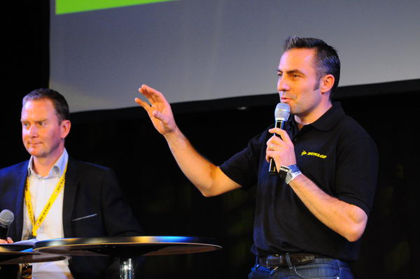 24-h-du-Mans-2013-Henry-Dumortier-Directeur-Dunlop-France-Patrick-Martinoli
