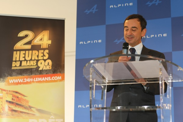 E MANS 8 MARS Pierre FILLON Président ACO Photo Frederic VEILLARD pour autonewsinfo