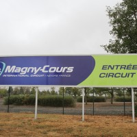 CIRCUIT MAGNY COURS pannneau entree photo Gilles VITRY autonewsinfo