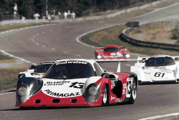 COURAGE-Le-Mans-1984-Yves-COURAGE-Jean-Philippe-GRAND-et-Michel-DUBOIS-COUGAR-C02-Photo-Collection-Yves-COURAGE