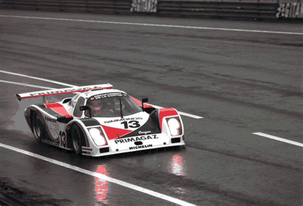 COURAGE-Le-Mans-1987-en-course-C20.-Photo-Collection-COURAGE