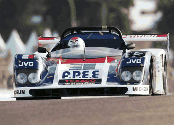 COURAGE-Le-Mans-1995-Mario-Andretti-au-volant-de-la-COURAGE-C34-Photo-Collection-COURAGE