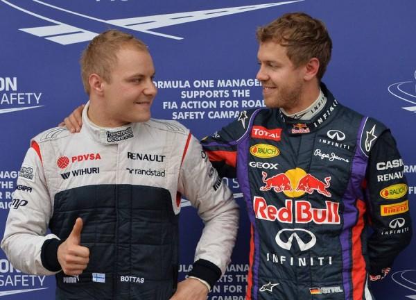 F1-2013-CANADA-VETTEL-felicite-BOTTAS-3-eme-des-qualifications-samedi-8-juin-a-MONTREAL