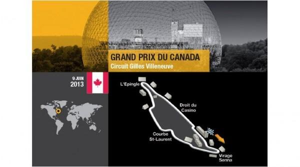 F1 2013 CIRCUIT GILLES VILLENEUVE