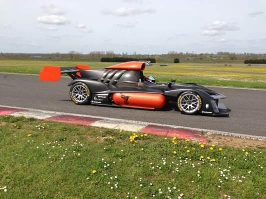 GREEN GT 2013 PESCATORI Premier roulage