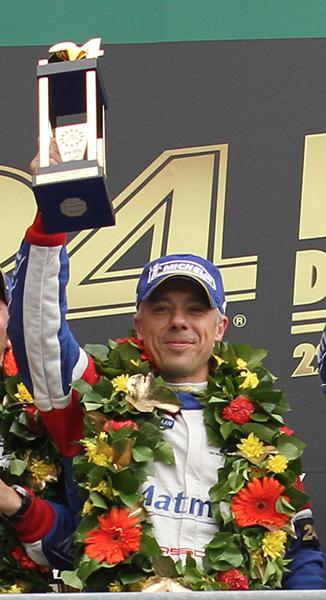 Raymond NARAC vainqueur en GT Am Photo Gilles MOLINIER autonewsinfo