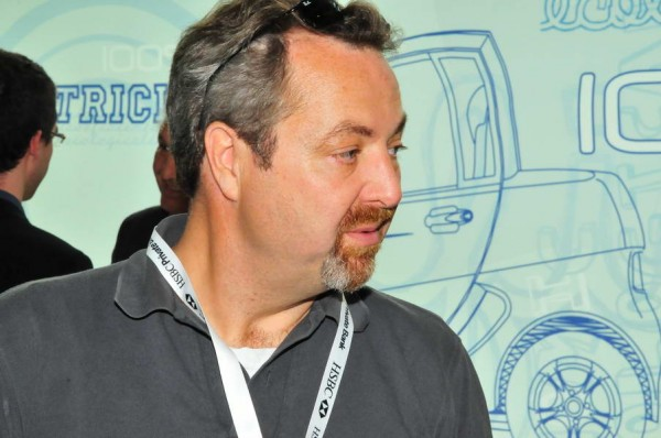 JEAN FRANCOIS WEBER au Salon Automobile de GENEBE photo autonewsinfo